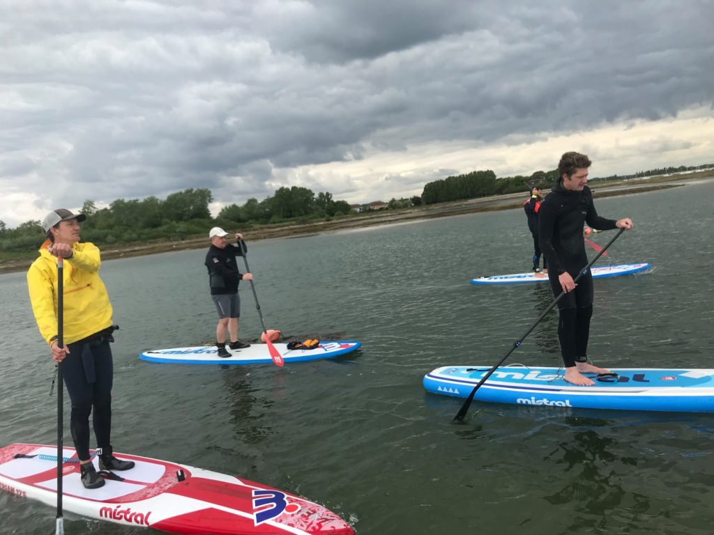 British Canoeing Coach Award Stand Up Paddleboard (Open Water) Lessons 5th and 6th October 2020